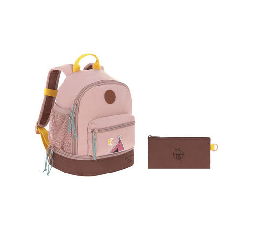 KINDERRUCKSACK - Pink, Basics, Textil (25/16/27cm) - Lässig