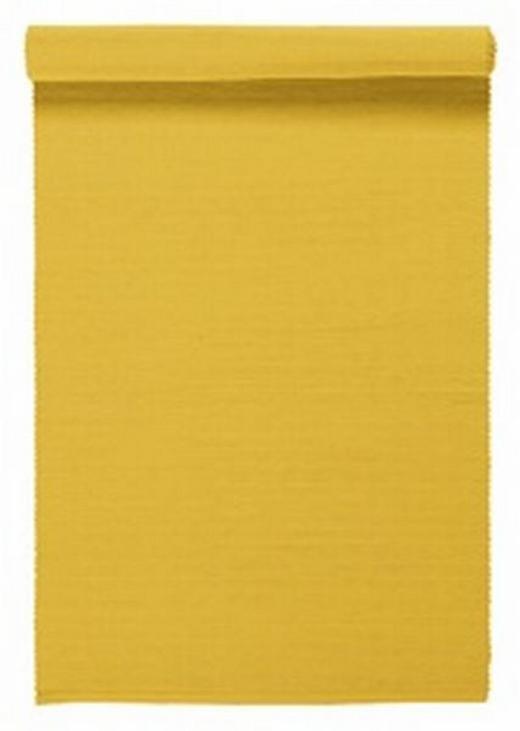 TISCHLÄUFER Textil Gelb 45/150 cm - Gelb, Basics, Textil (45/150cm) - LINUM