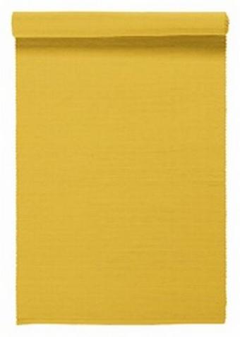 """UBRUS """"BĚHOUN"""" NA STŮL - žlutá, Basics, textil (45/150cm) - Linum"""