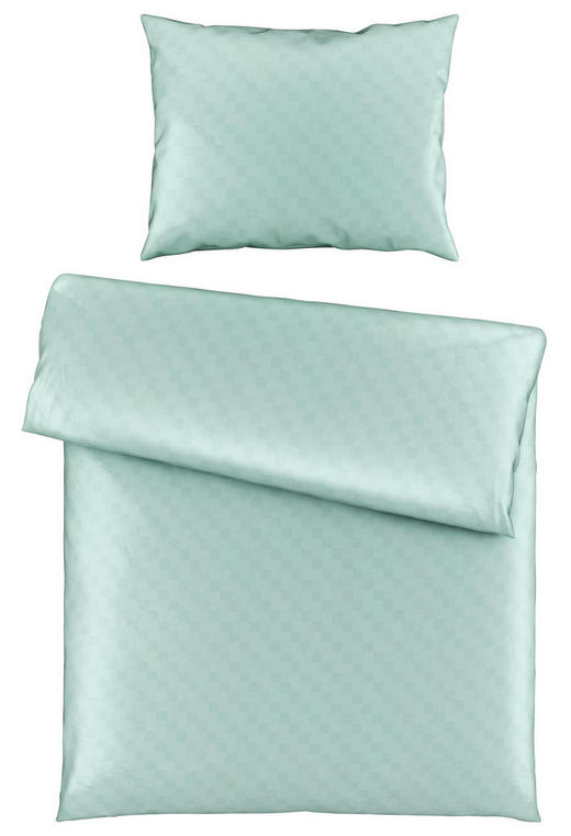 BETTWÄSCHE 140/200/ cm - Mintgrün, Basics, Textil (140/200/cm) - Ambiente