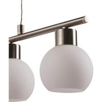 LED SVJETILJKA VISEĆA     59,4/do 150/9 cm   - bijela, Basics, staklo/metal (59,4/do 150/9cm) - Philips