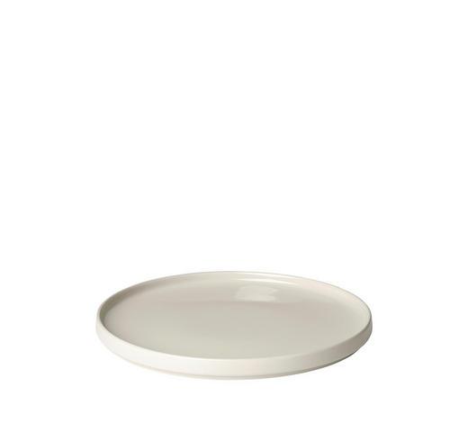 SPEISETELLER Keramik Steingut  - Beige, Basics, Keramik (27/2cm) - Blomus