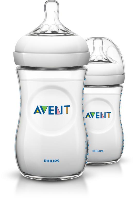 BABYFLASCHE 260 ml - Weiß, Basics, Kunststoff (14,200/16,600/7,100cm) - Avent