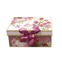 GESCHENKBOX - Multicolor, Trend, Papier (14/10/6cm) - Boxxx
