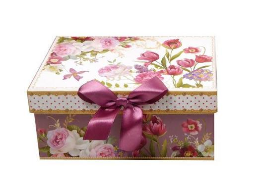 GESCHENKBOX - Multicolor, Trend, Papier (20/14/10cm) - Boxxx