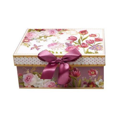 GESCHENKBOX  - Multicolor, Trend, Papier (17/12/8cm) - Boxxx