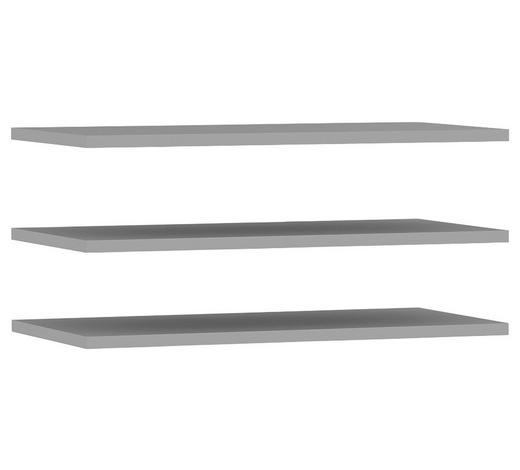 EINLEGEBODENSET 3-teilig Grau  - Grau, Basics (82,9/42/2,2cm) - Carryhome