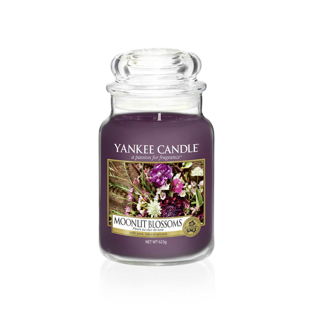 Yankee Candle Duftkerze yankee candle moonlit blossoms