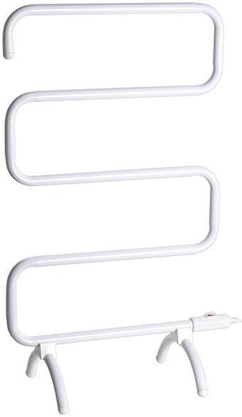 ELEKTR. HANDTUCHHALTER HTW 100 - Weiß, KONVENTIONELL, Kunststoff/Metall (60/79/4cm) - Silva Schneider