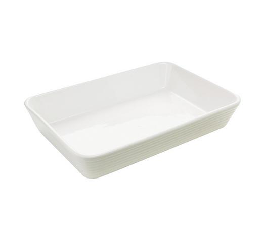 KERAMIČKI PEKAČ - bijela, Konvencionalno, keramika (34/23/5,5cm) - Homeware Profession.