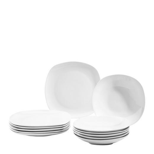 Tafelservice - Weiß, Basics, Keramik - BOXXX