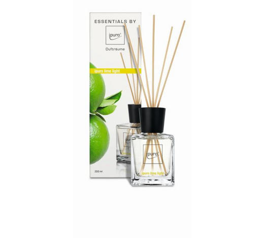 DIFFUSER LIME LIGHT - Klar, Basics (0,20l) - Ipuro