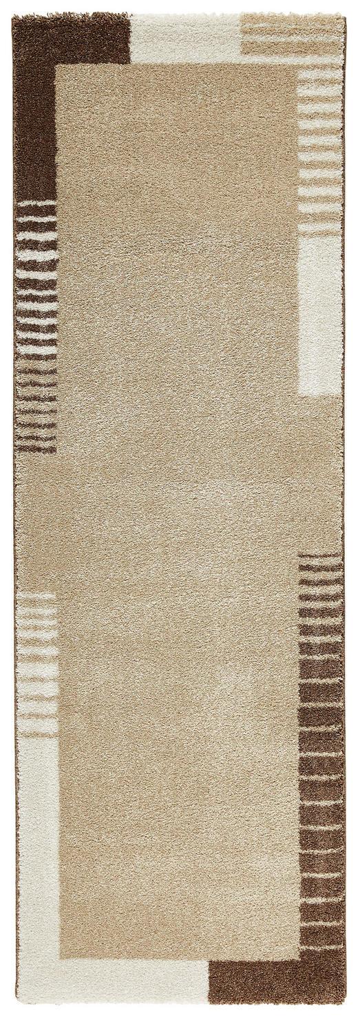 LÄUFER  80/240 cm  Braun, Hellbraun - Hellbraun/Braun, Basics, Textil (80/240cm) - Novel