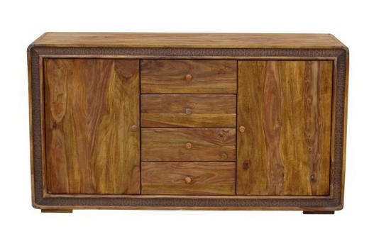 SIDEBOARD 150/85/40 cm - Sheeshamfarben/Braun, LIFESTYLE, Holz/Holzwerkstoff (150/85/40cm) - Landscape