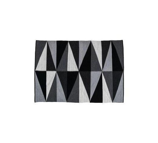 TEPIH - siva/crna, Basics, tekstil (80/150cm)