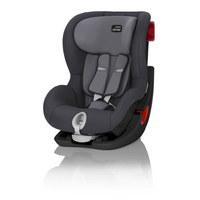 Kinderautositz King II Black S - Anthrazit/Schwarz, Basics, Kunststoff/Textil (45/67/54cm) - Römer