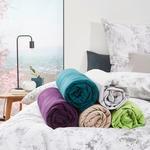 SPANNBETTTUCH Jersey Brombeere bügelfrei, für Wasserbetten geeignet  - Brombeere, Basics, Textil (150/200cm) - Esposa