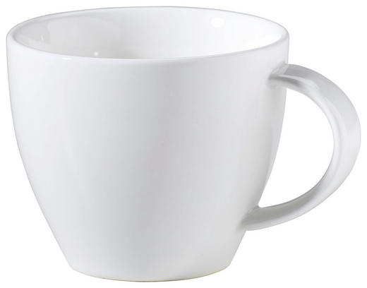 KAFFEETASSE - Weiß, Basics, Keramik (0,16cm) - Ritzenhoff Breker