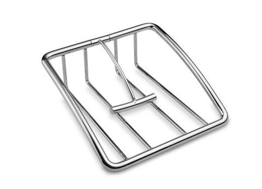 SERVIETTENHALTER  Metall  Edelstahlfarben - Edelstahlfarben, Design, Metall (17/17/7cm) - Justinus