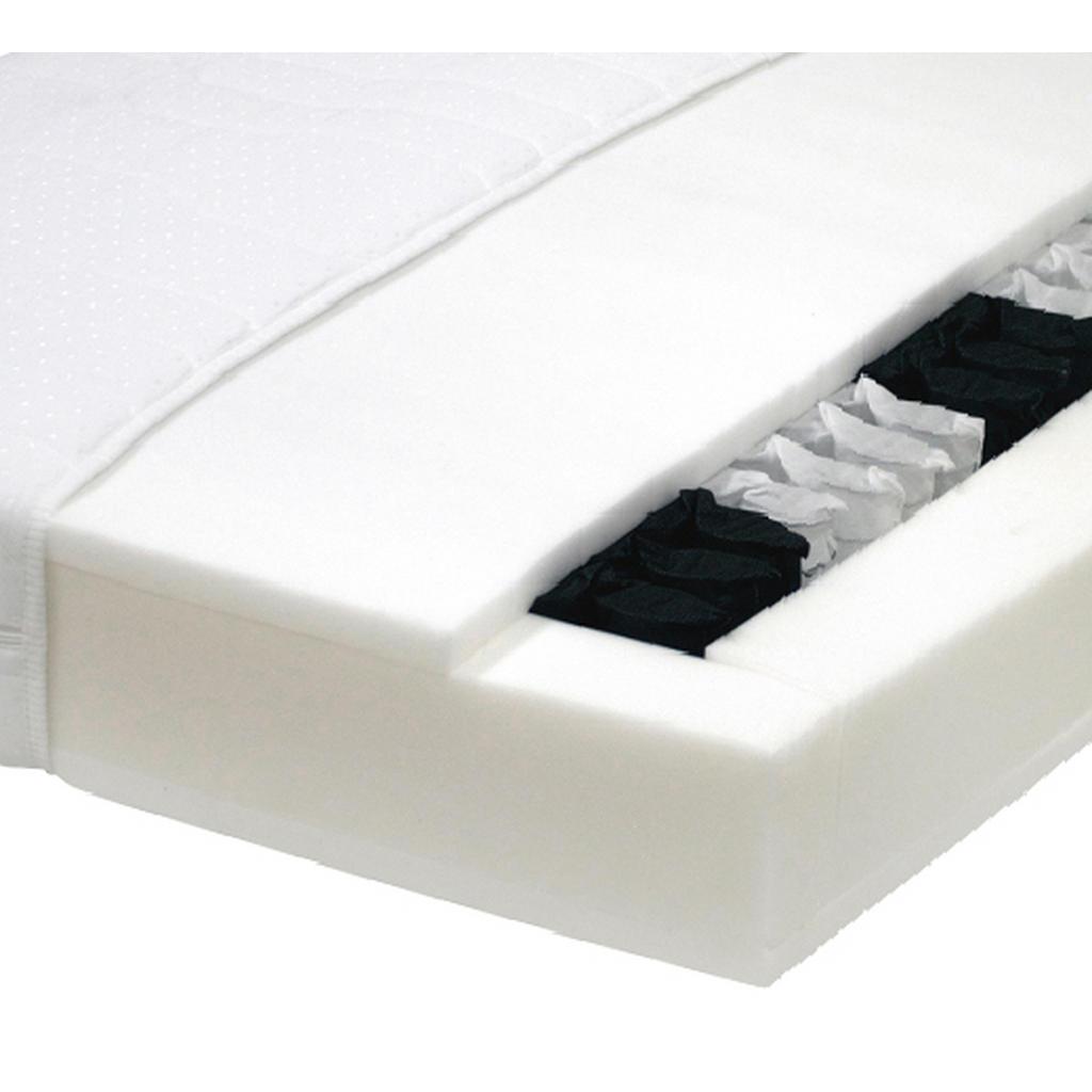 Carryhome Taschenfederkernmatratze höhe ca.19 cm