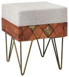 TABURE - boje mjeda/boje bagrema, Trend, drvo/metal (37/46/37cm) - Ambia Home