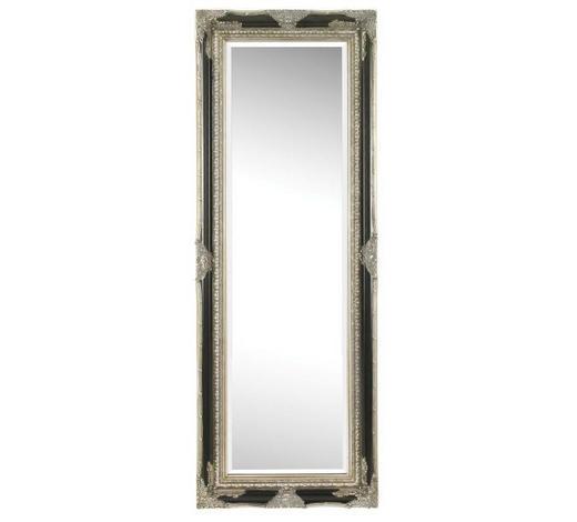 ZRCADLO, 60/160/6,1 cm,  - černá/barvy stříbra, Lifestyle, dřevo (60/160/6,1cm) - Landscape