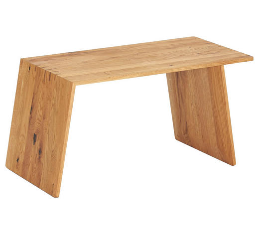 BEISTELLTISCH in Holz 76,6/38/37,6 cm - Eichefarben, Design, Holz (76,6/38/37,6cm) - Team 7