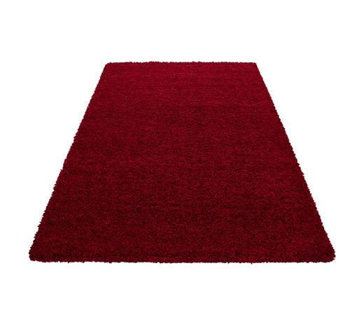 HOCHFLORTEPPICH - Rot, KONVENTIONELL, Textil (80/250cm) - Novel