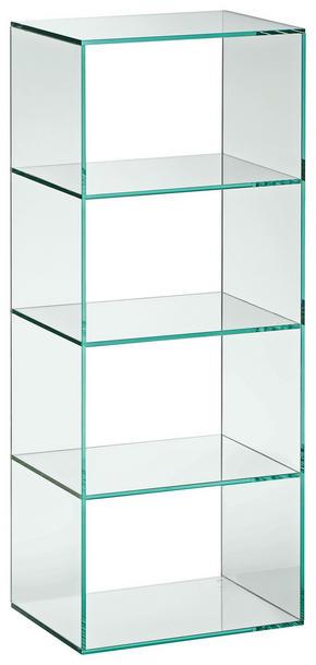 HYLLA - Design, glas (40/99/30cm) - Xora