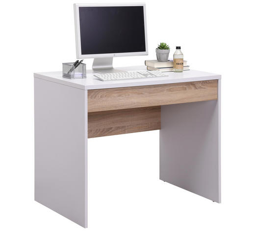 Schreibtisch Sonoma Eiche Weiß Online Kaufen Xxxlutz