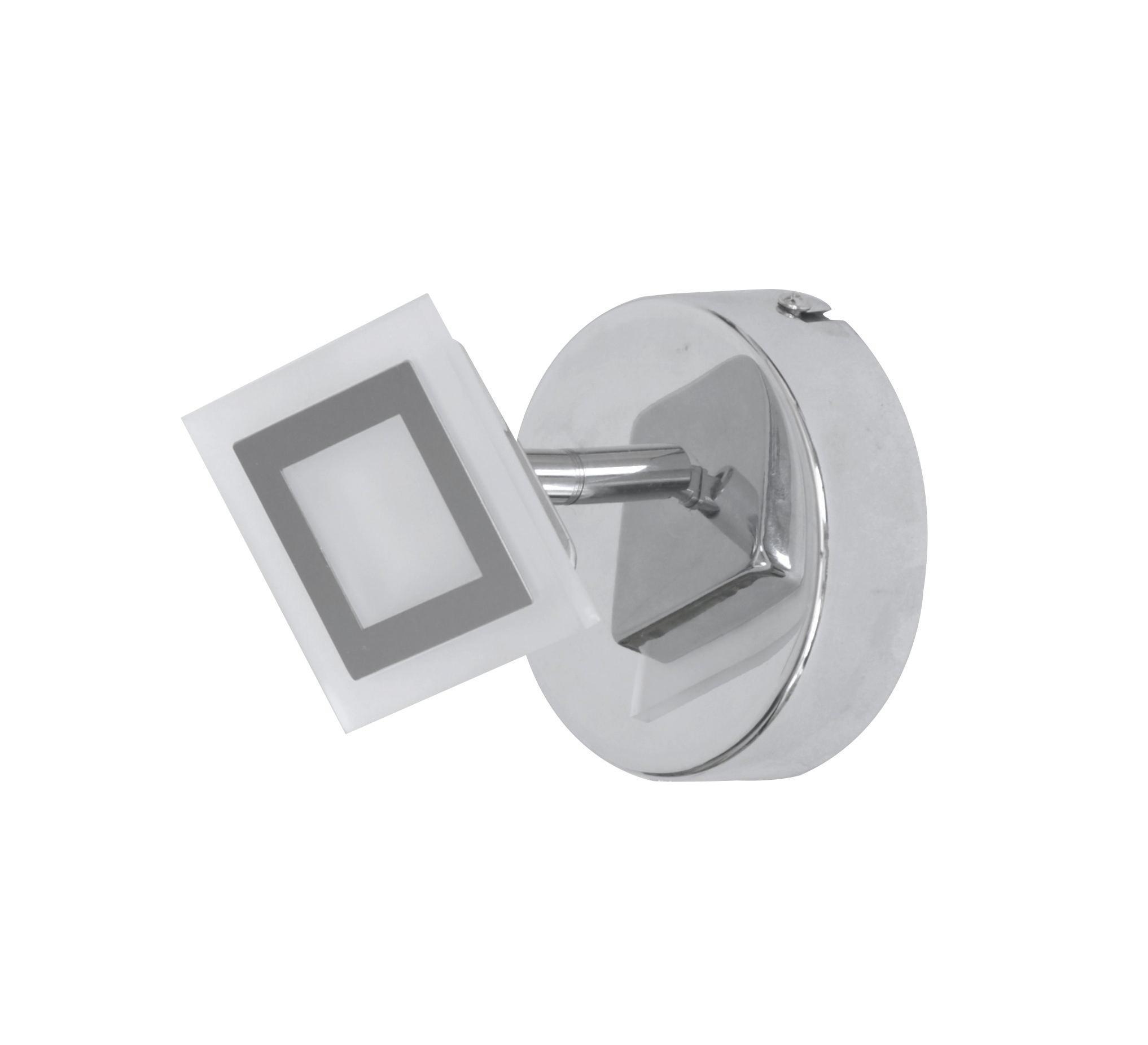 LED-STRAHLER - Design, Kunststoff/Metall (11/9,5/11cm)