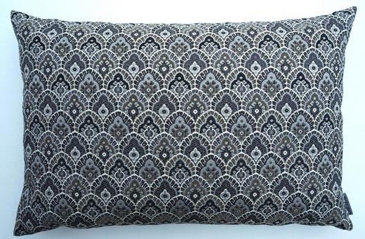 KISSENHÜLLE Anthrazit 40/60 cm - Anthrazit, Basics, Textil (40/60cm) - Ambiente