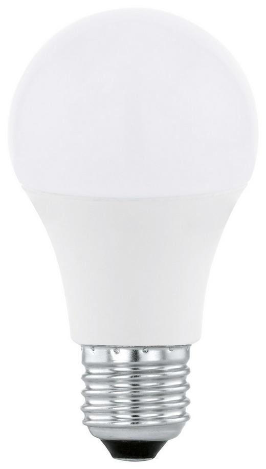 LED-LEUCHTMITTEL  E27 9 W - Weiß, Basics, Metall (11,6cm)