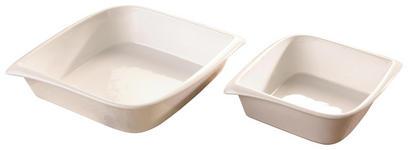 AUFLAUFFORMENSET  2-teilig - Weiß, Basics, Keramik - Homeware