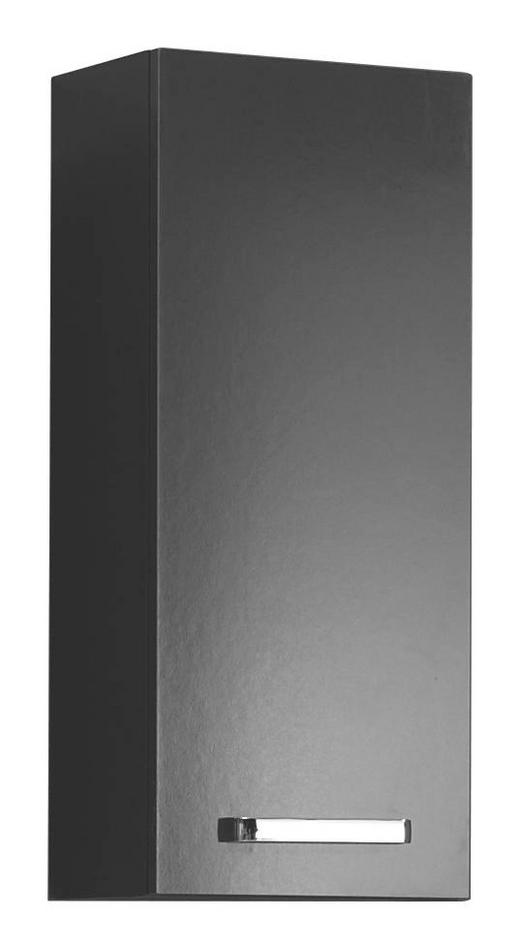 HÄNGESCHRANK Anthrazit - Anthrazit/Silberfarben, KONVENTIONELL, Holzwerkstoff/Metall (30/70/20cm) - Carryhome