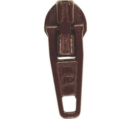 JEZDEC NA ZIP - hnědá, Basics, kov (2cm)
