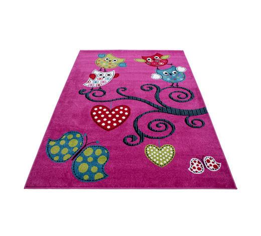 KINDERTEPPICH 120/170 cm  - Lila, Trend, Textil (120/170cm) - Ben'n'jen