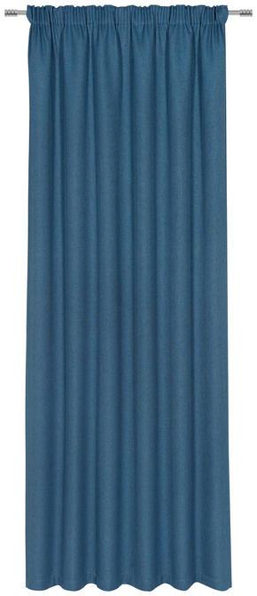 GARDINLÄNGD - petrol, Klassisk, textil (140/300cm) - Esposa