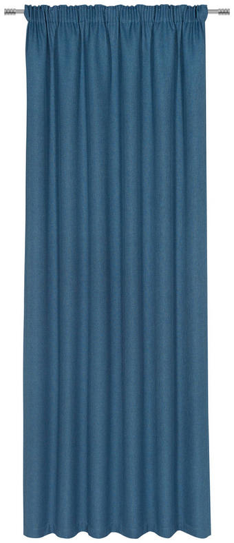 FERTIGVORHANG blickdicht - Petrol, KONVENTIONELL, Textil (140/300cm) - Esposa