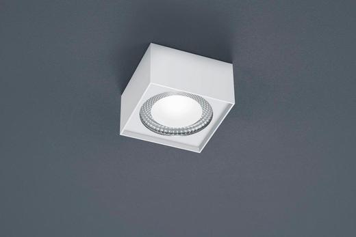 LED-DECKENLEUCHTE - Weiß, MODERN, Metall (12/12/7cm)