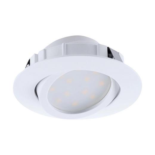 EINBAULEUCHTE LED-Leuchtmittel - Weiß, Design, Kunststoff (8,4cm)
