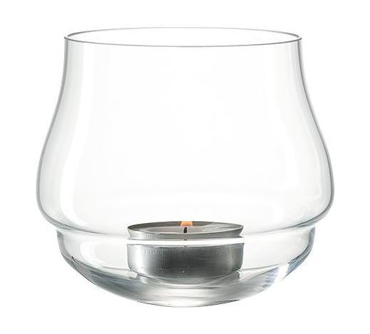 TEELICHTGLAS - Transparent, Basics, Glas (10,00/9,00/10,00cm) - Leonardo