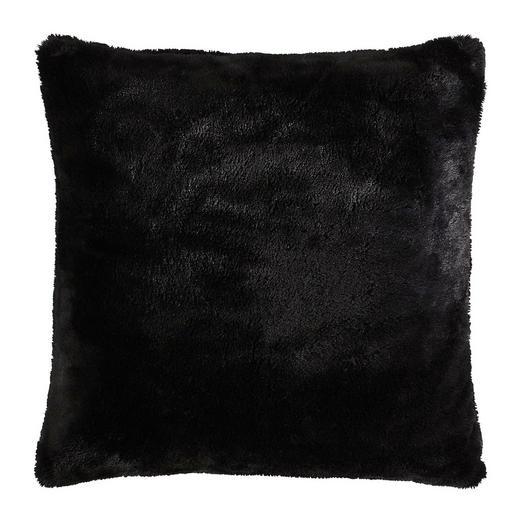 KISSENHÜLLE Schwarz 60/60 cm - Schwarz, Design, Textil (60/60cm) - Novel