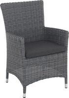 GARTENSESSEL - Naturfarben/Grau, Design, Kunststoff/Textil (61/91/64cm) - AMBIA GARDEN