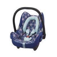 BABYSCHALE  Cabriofix  - Blau/Rot, Basics, Kunststoff/Textil (44,5/57/66cm) - Maxi-Cosi