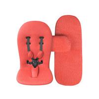 PODLOGA ZA VOZIČEK STARTERPACK - rdeča, tekstil (55/60cm) - Mima
