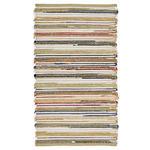 Wollteppich  70/250 cm  Multicolor   - Multicolor, LIFESTYLE, Textil (70/250cm) - Linea Natura