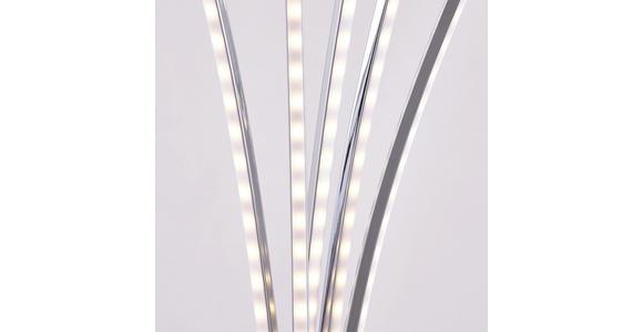 LED-STEHLEUCHTE  62/190/52 cm   - Chromfarben, Design, Metall (62/190/52cm) - Ambiente