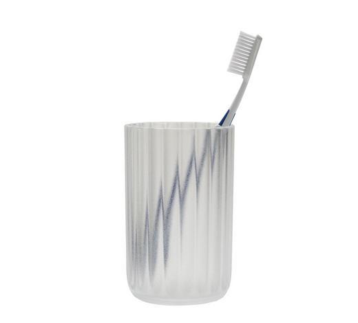 ZAHNPUTZBECHER Kunststoff - Weiß, Basics, Kunststoff (7,5/11,5cm) - Kleine Wolke