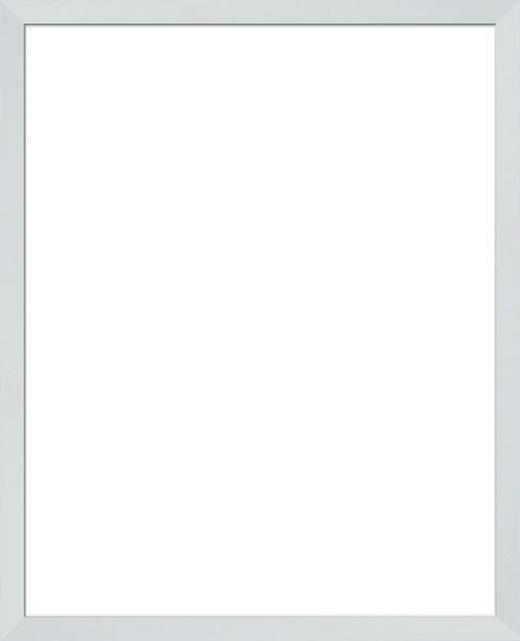 RÁM NA OBRAZY - bílá, Basics, dřevo/sklo (40/50cm)